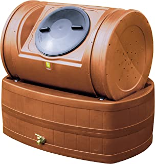 Good Ideas EZWH-TC 47-Gallon Compost Wizard Hybrid - Terra Cotta