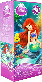 Disney Princess: Little Mermaid Ariel Lenticular Puzzle (12 in x 9 in) 48 Pieces