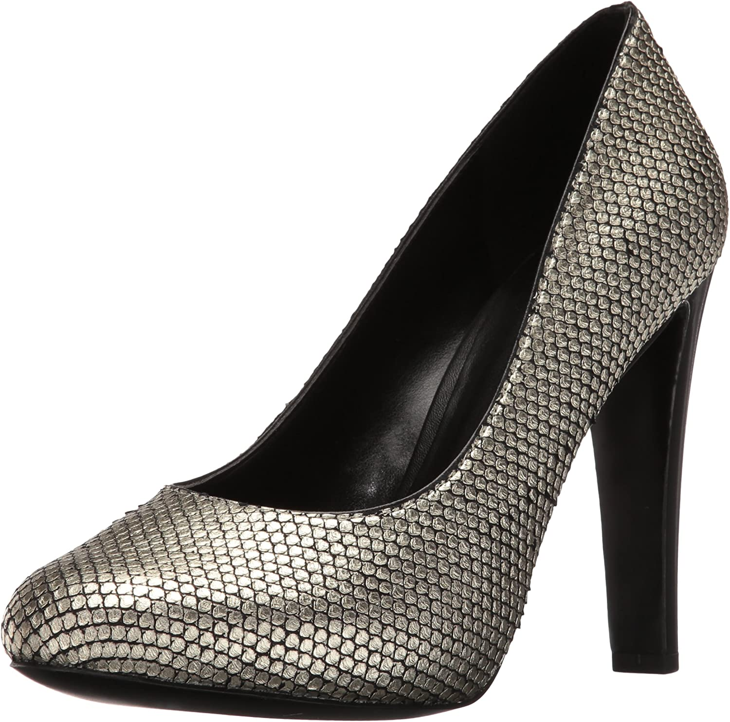 Nine West Women's Brielyn Metallic Platform Pump