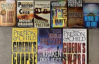 Douglas Preston and Lincoln Child Adventure Series Collection 9 Book Set