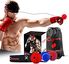 MMA Fitness Punching Accuracy LFBTLN Boxing Quick Puncher Adjustable Height PU Boxing Reflex Ball for Train Boxing Boxing Reflex Ball Suspension Fight Ball Vacuum Chuck Boxing Ball Bags Timing