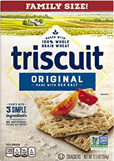 Triscuit Original Crackers - Family Size, Non-GMO, 12.5 Ounce