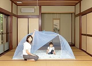 日本製 洗えるムカデワンタッチかや 底付 シングル