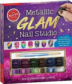 Klutz Metallic Glam Nail Studio Activity Kit