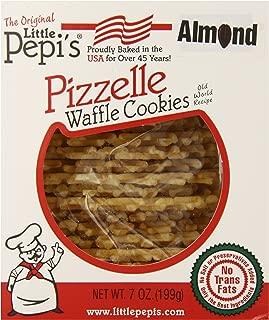 Little Pepi's Pizzelles, Almond, 7 Ounce