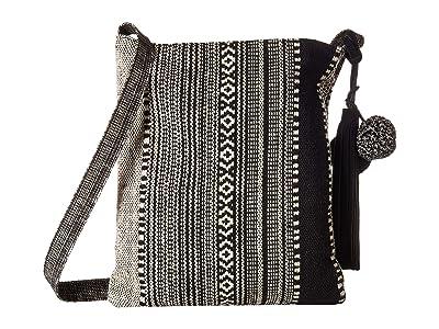 Lucky Brand Cora Shoulder (Black/Ivory) Handbags