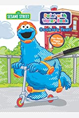 Sesame Street Paint With Water Activity Book - Cookie's Year Paperback