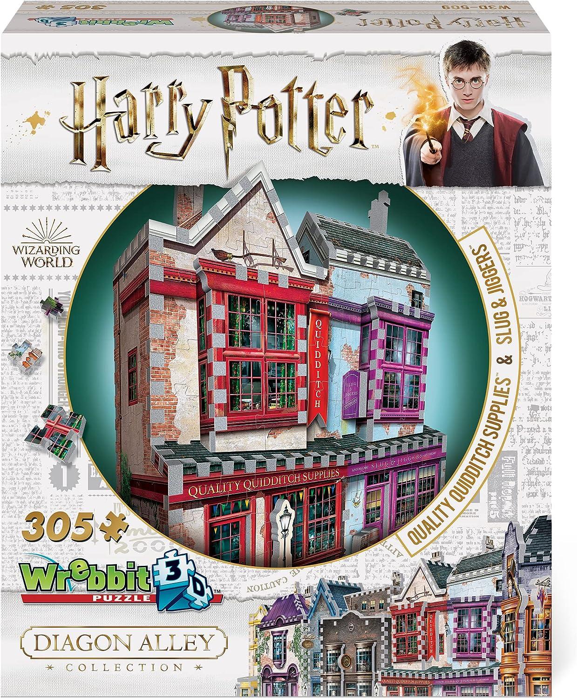 WREBBIT 3D Harry famous Potter Diagon Quidditch Supplies Alley Slug shipfree