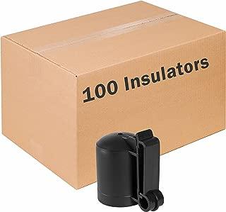 Zareba ITCPB-Z Saftey Cap and Insulator, 100 Pack