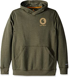 Carhartt Men's Force Delmont Graphic Hooded Sweatshirt (Regular and Big & Tall Sizes)