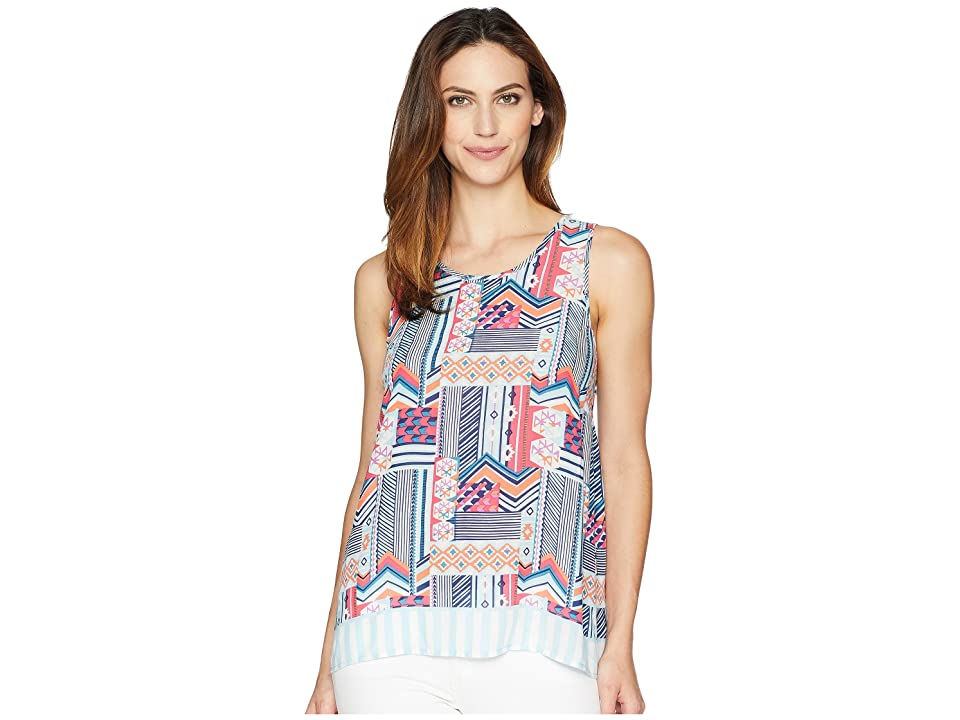 Vera Bradley Pajama Tank Top (Patchwork Bouquet) Women
