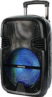 مكبر صوت بلوتوث بتصميم حقيبة جر امتعة من نيكاي، 12 انش - NTROY12402