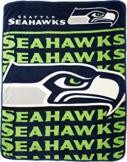 The Northwest Company Officially Licensed NFL Livin Large Micro Raschel Throw Blanket, 46