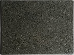 "Kota Japan Premium Non-Stick Natural Black Granite Stone Pastry Cutting Board Slab 12"" X 16"" with No-Slip Rubber Feet for ..."