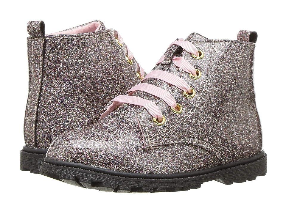 Baby Deer First Steps Glitter Boot (Infant/Toddler) (Multi) Girls Shoes
