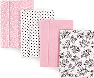 personalized girl burp cloths