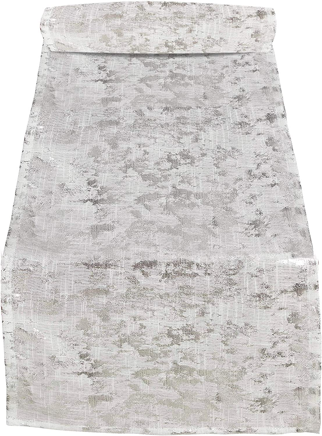 SARO LIFESTYLE Bottega Collection Foil Daily bargain sale Design Runner Outstanding Table Print
