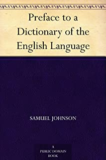 Preface to a Dictionary of the English Language (English Edition)