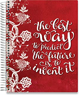 Tools4Wisdom 2020 Planner - Dated December 2019 Plus January to Dec 2020 Calendar Year - Daily Weekly Monthly Personal Organizer - 8.5 x 11 Floral Hardcover
