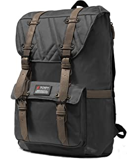 Olympia Hopkins 18-Inch Backpack GY, Charcoal Gray, One Size