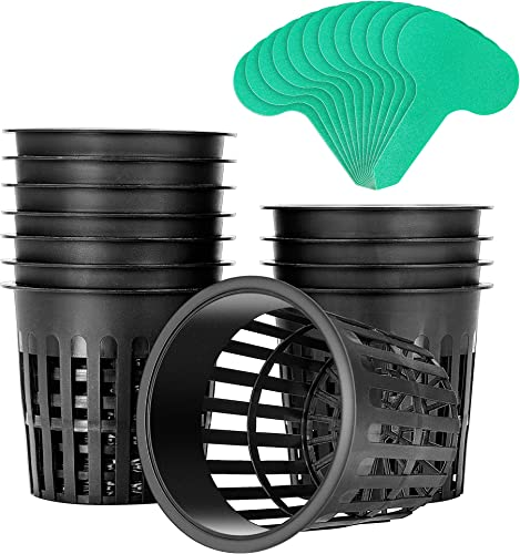 popular VIVOSUN 12 Pack 4 Inch Net Pots Heavy Duty Net Cups with outlet sale 12 Pcs Plant new arrival Labels sale