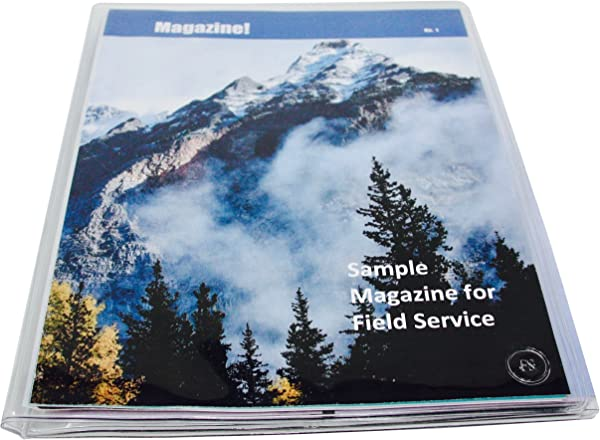 JW Field Service Supplies Vinyl Magazine And Tract Organizer