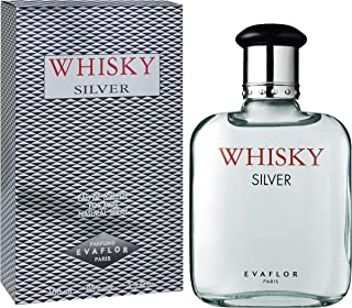 Evaflor Whisky Silver for Men, 100ml