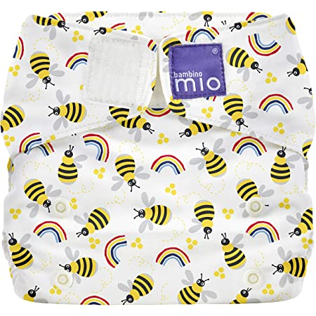 Size 1 Bambino Mio Miosoft Cloth Diaper Cover Butterfly Bloom