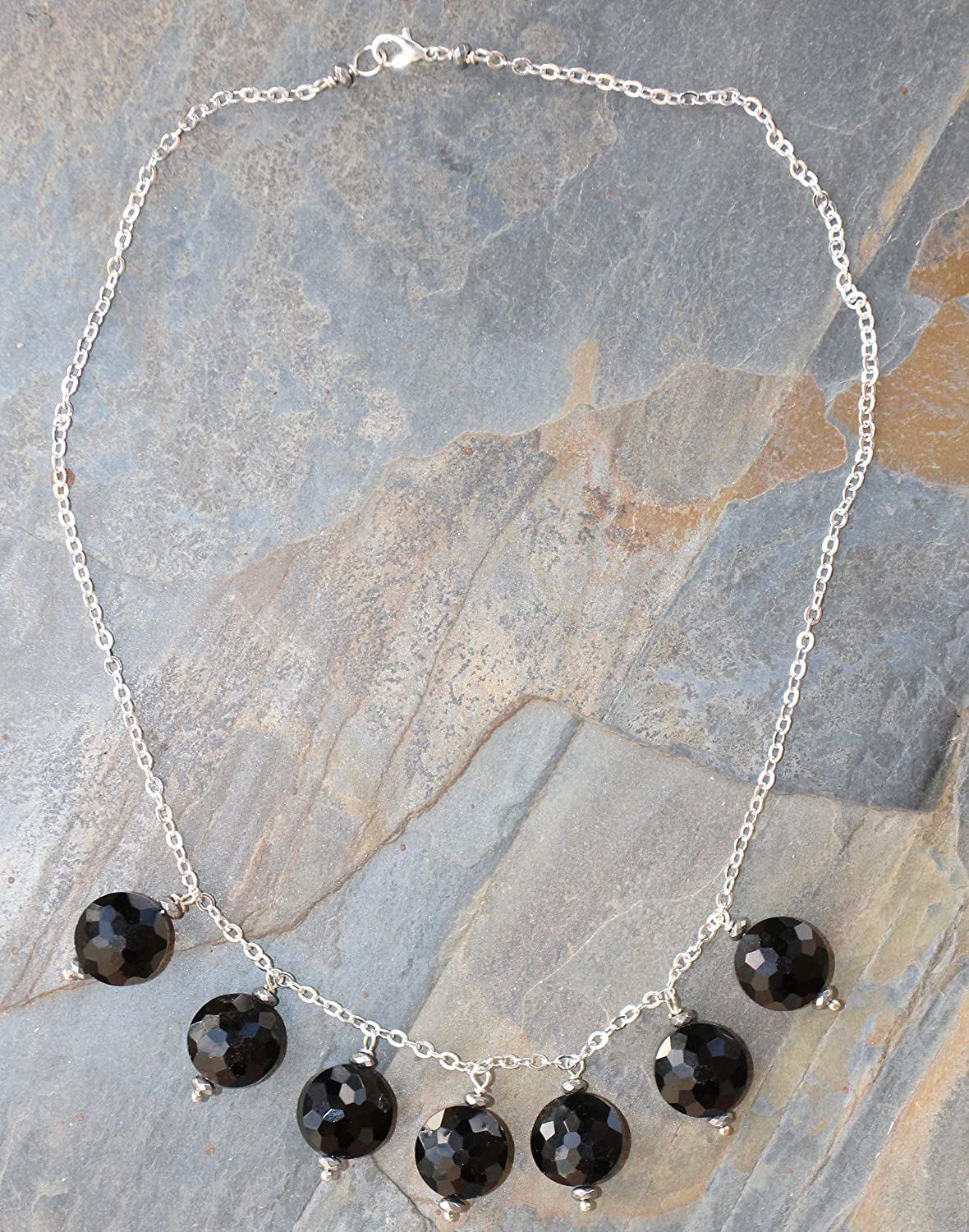 Black Inventory cleanup selling sale Necklace Crystal Bib Sparkly Very popular