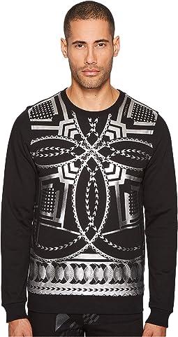 Versace Jeans - Metallic Logo Sweatshirt
