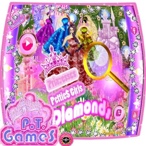 Princesses PettieS Girls: Find diamonds - Princesas PettieS Girls: Encontre diamantes