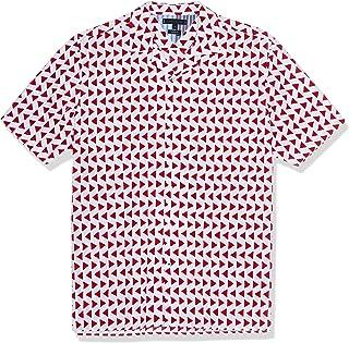 Tommy Hilfiger Men's Bold Geo Print Shirt S/S Sweatshirt
