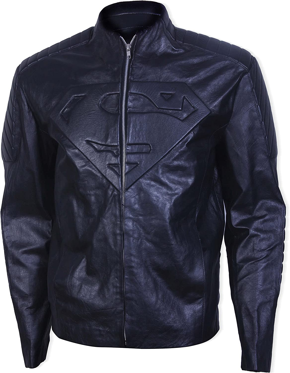 e64c46c6 Mens Henry Cavill Superman Black Faux Leather Jacket 3XS 3XS 3XS 94c99c