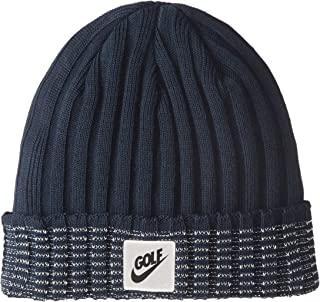 NIKE Unisex Golf Beanie Cuffed Knit Hat Armory Navy 856377-454 One Size 8255e40134c9