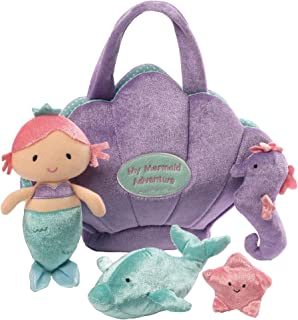 Baby GUND Mermaid Adventure Stuffed Plush Playset, 10