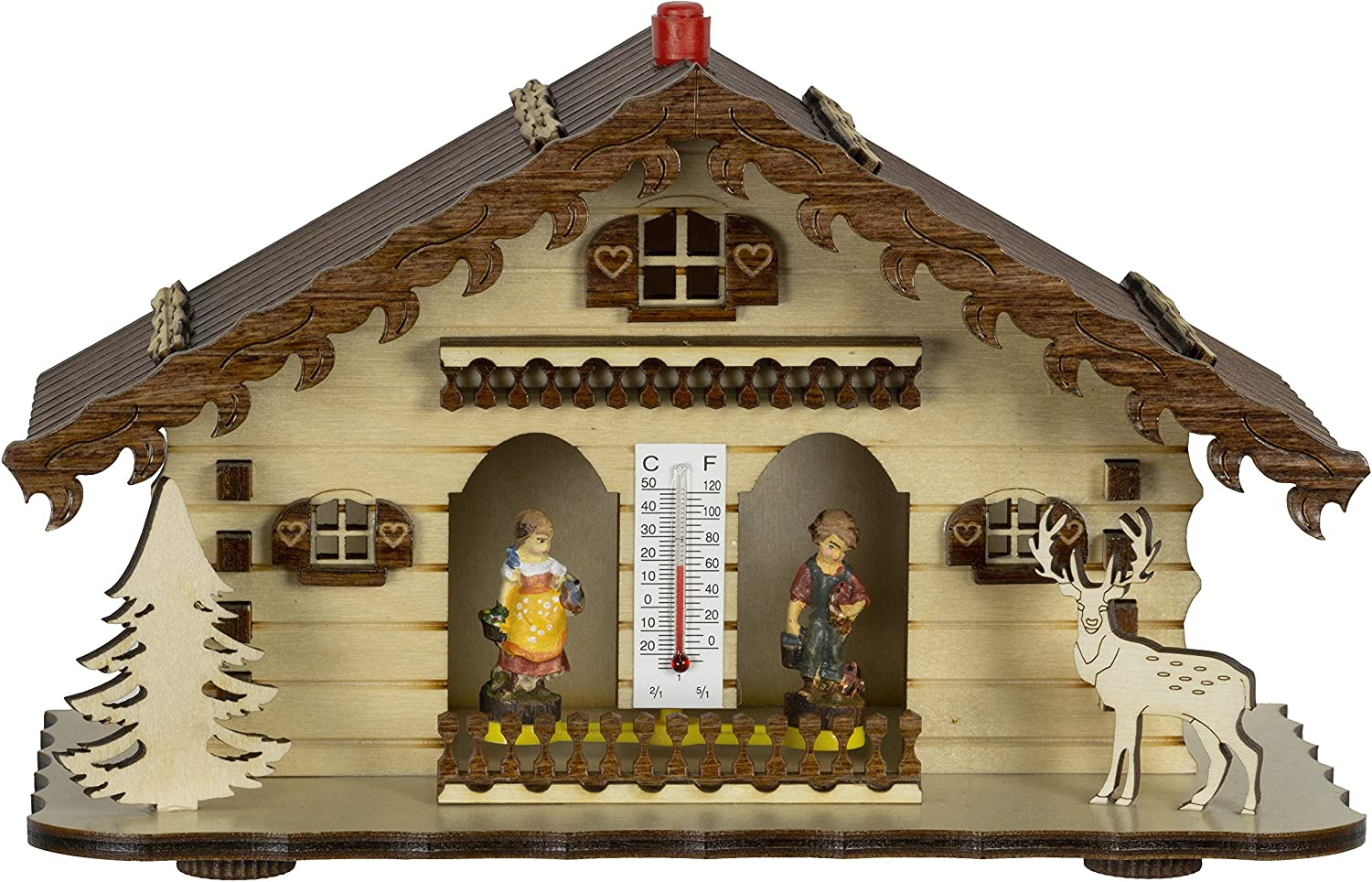 Trenkle Tulsa Mall German Black Forest TU weather house 863 Safety and trust