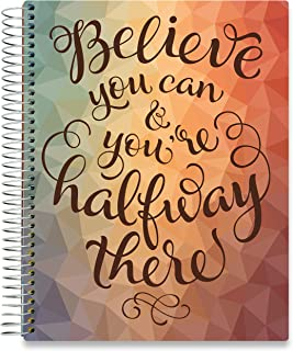 Tools4Wisdom 2020 Planner October 2019-2020 - 8.5 x 11 Hardcover - Daily Weekly Monthly Planner - Dated Oct November December 2019 Plus 2020 Calendar Year
