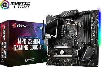 MSI MPG Z390M Gaming Edge AC LGA1151 (Intel 8th and 9th Gen) M.2 USB 3.1 Gen 2 DDR4 HDMI DP Wi-Fi SLI CFX Micro ATX Z390 G...