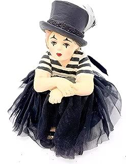 Bethany Lowe Mime Madeline Halloween Costume Figurine Trick-or-Treater, 4