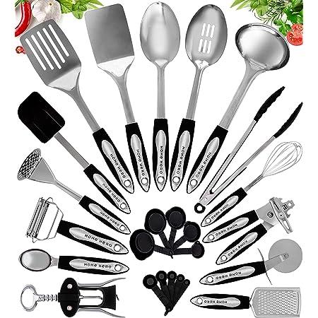 Küchenutensilien Aus Edelstahl Antihaft Und Hitzebeständiges Kochgeschirrset