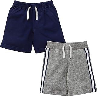 Gerber Pantalones Cortos para niños pequeños, Paquete de 2