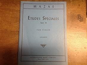 Mazas Etudes Speciales Opus 36 for Violin (Galamian) IMC No.2177