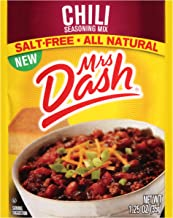 Mrs. Dash Seasoning Mix, Chili, 1.25 Ounce (Pack of 12)