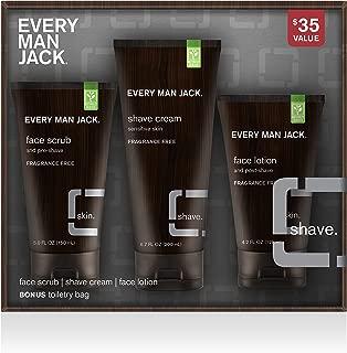 Every Man Jack Shave Kit, Fragrance Free