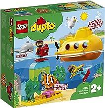 LEGO DUPLO Town - Aventura en Submarino Nuevo juguete de construcción Infantil con Figuras de Submarinistas y Animales Marinos (10910)