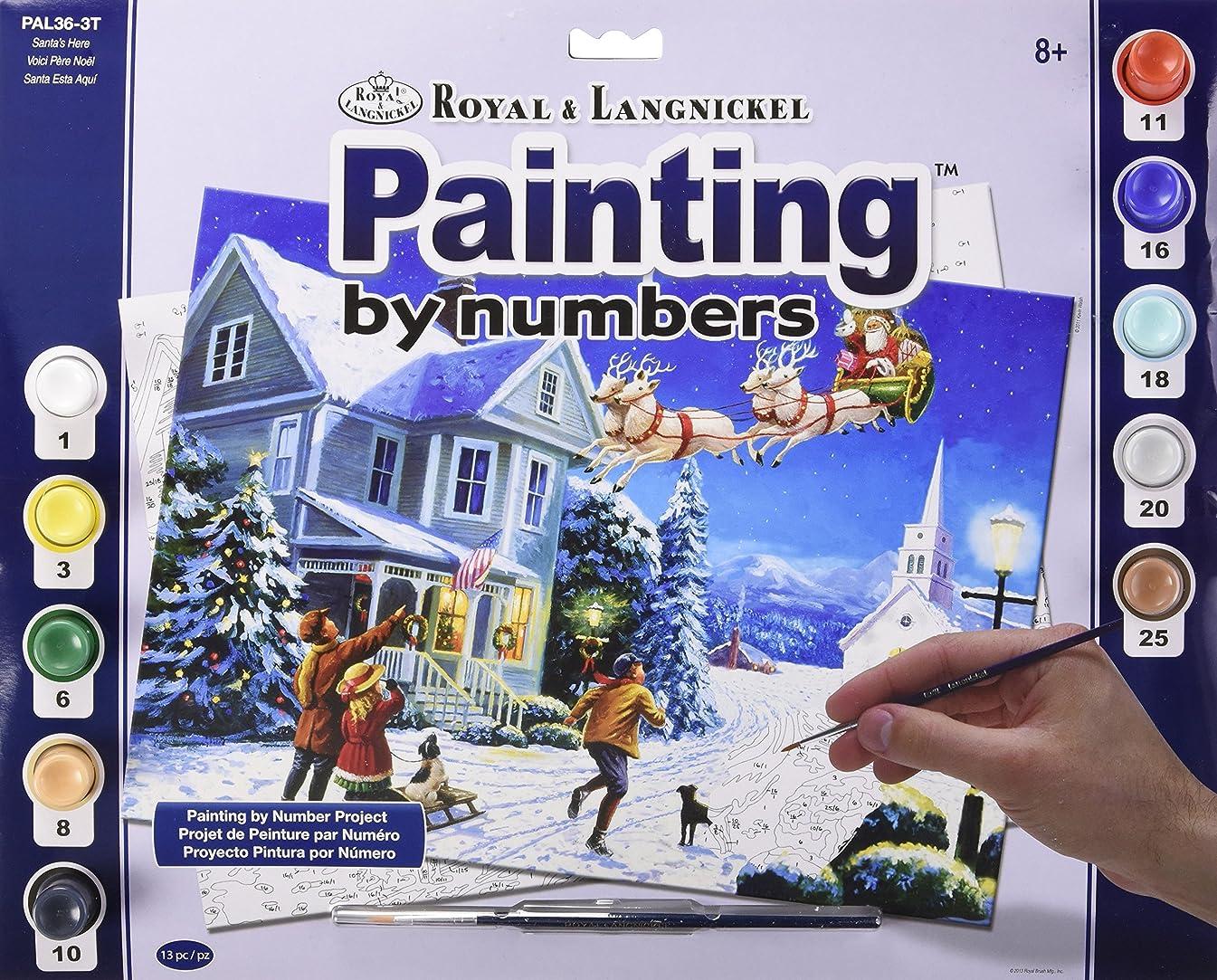 Santas Here Paint by Number