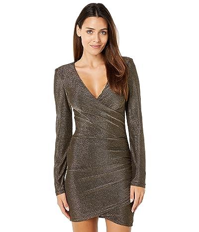 Bardot Isla Lurex Mini Dress