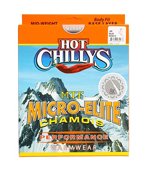 Tight 8K Chamois Black Chillys Micro Hot Elite Solid tYRIKO