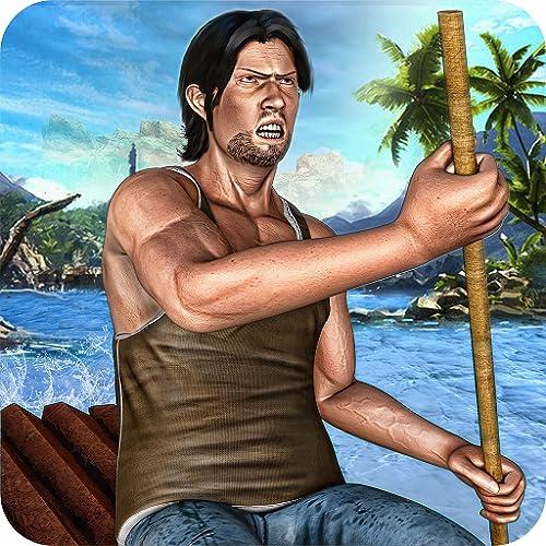 Floß Überleben Hardtime Island Escape Life Simulator 3D: Held Kampf Evolution Abenteuer Craft Games Free Für Kinder