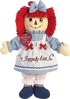Aurora World Raggedy Ann Plush Toy, Red/Blue/White